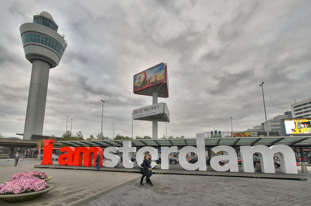 Schiphol Airport Departures, Amsterdam, The Netherlands